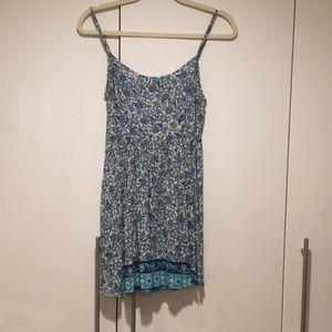 423b5c9852a Blue paisley print dress